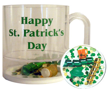 Saint Patrick's Day Compartment Mugs