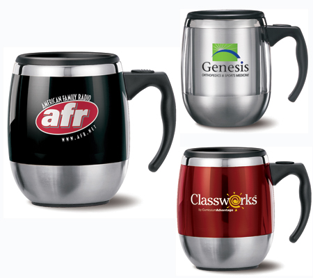 Customized Stainless Steel Coffee Mug Collection