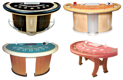 Stationary Blackjack Tables