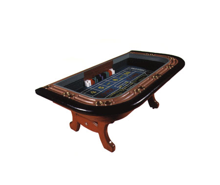 One Man Casino Style Craps Tables
