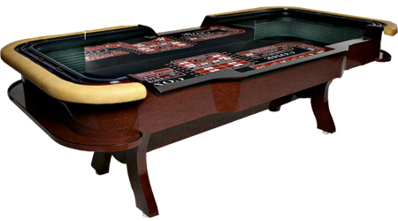 Deluxe Casino Style Craps Tables