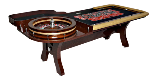 Roulette tables many folding and stationary roulette - Table tv a roulettes ...