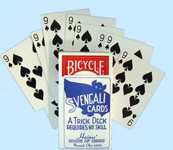 Svengali Magic Cards