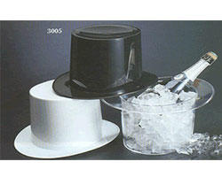 Top Hat Novelty Ice Buckets