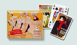Toulause Lautrec Playing Cards