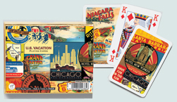 US Vacation Playing Card Set
