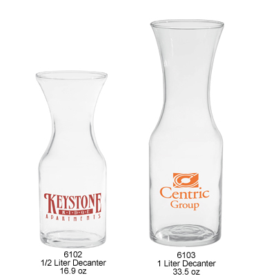 Custom Printed Wine Decanters