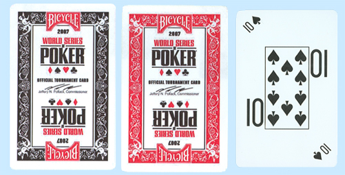 2007 World Series of Poker Official Tournament Cards