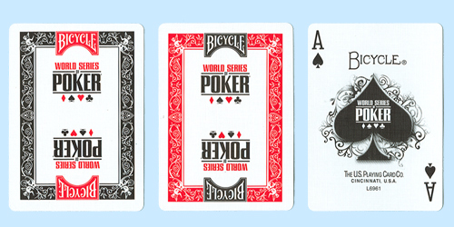 Bicycle World Series of Poker Tournament Cards