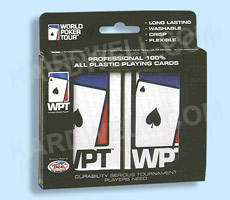 100% Plastic World Poker Tour Playing Cards