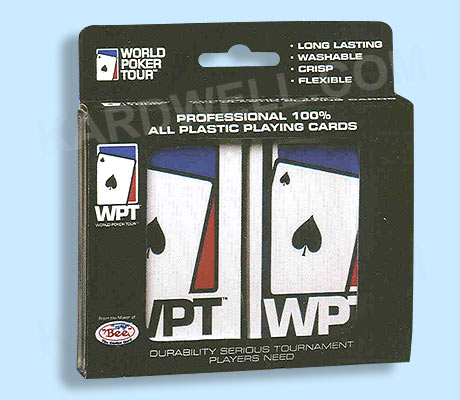100% World Poker Tour Playing Cards
