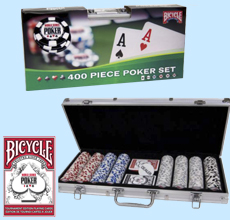 World Series of Poker Tour 400 Chip Set