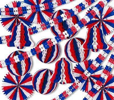 patriotic display decorator decorating kit - Patriotic Decorations