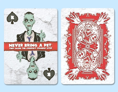 Bicycle Zombie Playing Cards Zombie Playing Cards From Bicycle Have