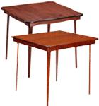 Marvelous Solid Wood Top Bridge Tables
