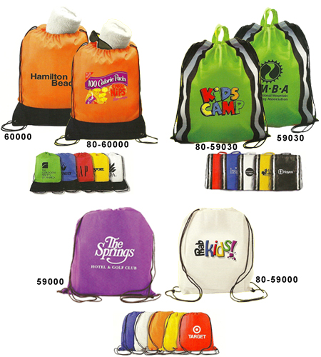 Custom Drawstring Bags: Custom Drawstring Backpacks with Your 1-4 ...