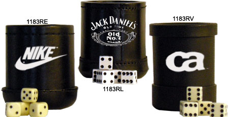 Custom Dice Cups Get Custom Dice Cups With Your DesignMessage At - Vinyl dice cup