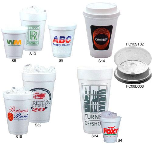 foam cups choose from 10 styles of custom imprinted foam cups in