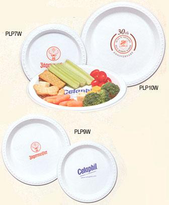 Custom Imprinted Plastic Plates & Custom Printed Plastic Plates: Imprinted Plastic Plates with Your ...