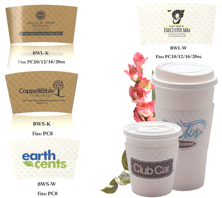 Custom Imprinted Insulate Beverage Wraps With Any Design You Choose