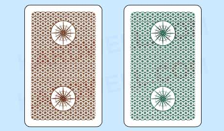 NEW 6 Decks Ace 100/% Plastic Playing Cards Cartamundi Washable FREE CUT CARDS