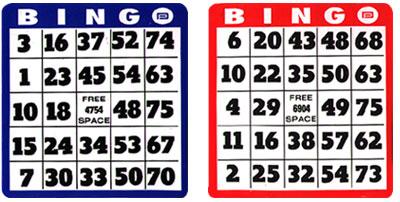 Bingo Hard Cards Choose From Regular And Easy Read Jumbo