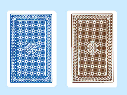 Kem Casino Club Playing Cards Club Back Design In Two
