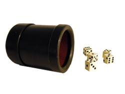 Dice Cups  Dice Trays Leather And Vinyl Dice Cups And Circular - Vinyl dice cup